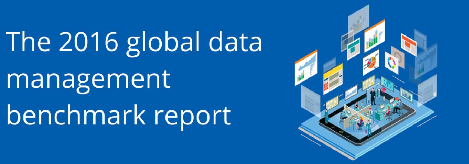 2016 global data management benchmark report