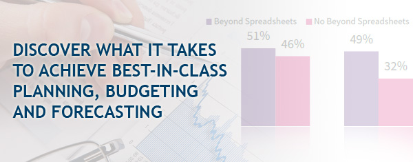 Discover what it takes to achieve best-in-class planning, budgeting and forecasting